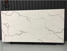 Arabescato White Quartz Slab Calacatta Marble
