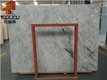 Blue Ice Jade Marble Flooring Tile Application