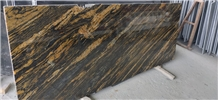 Titanium Gold or Fusion Gold Granite Slabs