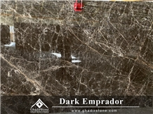 Dark Brown Emprador Marble Slab
