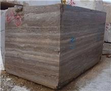 Titanium Travertine Blocks
