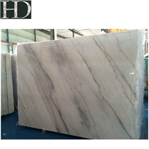 Chinese Rainbow Guangxi White Marble Slabs & Tiles