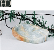 Green Onyx Luxury Ashtray for Office Home Decor