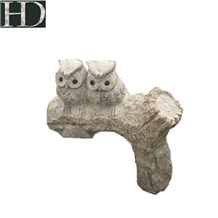 Hand Carving Stone Animal Statue, Sculpture