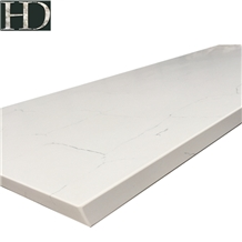 White Quartz Countertop, Worktop, Dining Table Top