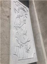 Granite Railing Carving Sculpture Garder Use