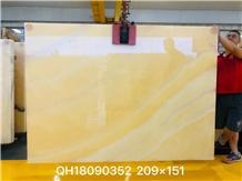 Lb Perfect Peach Onyx Yellow Onix Slab in China