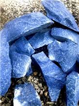 Royal Blue Macaubas Pieces and Small Boulders
