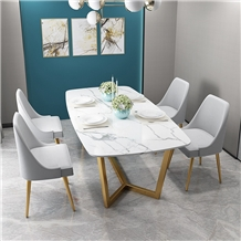 White Marble Dining Table Marble Tops 4 Chair