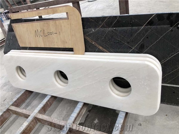 White Onyx Table Top Smoking Room Counter Tops from China ...