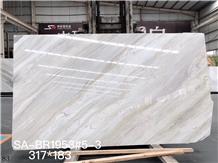 Ashy Earl Grey Vein Marble Tiles Slab