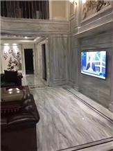 China Venato White Marble Slab Tiles Walling Floor