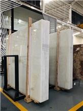 Pakistan Snow White Marble Slab Tiles