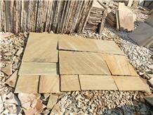 Yellow Mint Sandstone Paving Stone