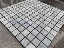 Chipped Mosaic - Sanded Grey Marble