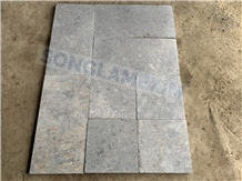 Frog Skin Marble Pavers Sanded Antiqued Tumbled