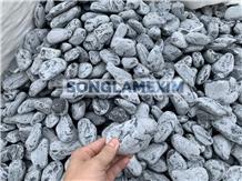 Grey Marble Pebbles,Tumbled Pebble Stone