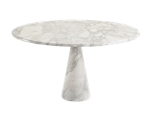 Round Dinning Table, Marble, Staturio