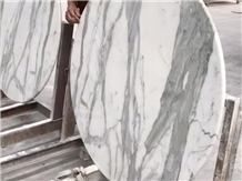 Round Dinning Tabletop, Marble, Natural Stone