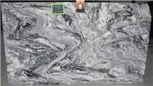 Viscount White Granite Slabs, Viscon Exotica Granite