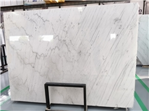 China Cheap Guangxi White Marble Popular Slab