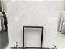 Italian Bianco Carrara White Marble Slab