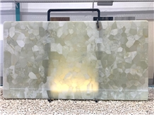Persian White Green Onyx Tiles & Slabs