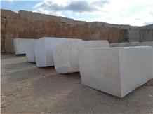Moca Creme Fine Grain Limestone Blocks