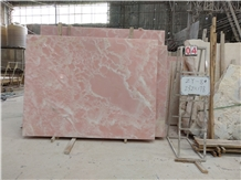 Afghan Pink Onyx Slab and Tile