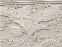Beige Marble Stone Relief/Curving/Engraving