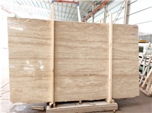 Beige Travertine for External Wall Tile
