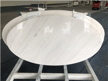 Bianco Polaris Marble Stone Table Top