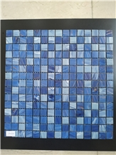 Blue Color Glass Mosaic for Pool Covering