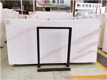 Golden Jazz White Marble for Wall Covering