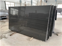 Royal Black Wood Marble for Wall and Floor Tiling