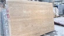 Super White Travertine for Wall and Floor Tile