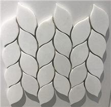 White Crystal Marble Natural Stone Mosaic