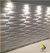 New Gohare Beige Limestone 3d Wall Panels