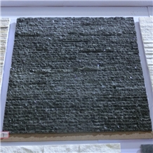 Natural Black Quartzite Waterfall Culture Stone
