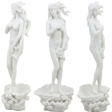 White Marble Birth Of Venus Sculpture Statue