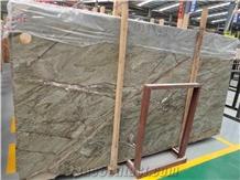 Rainforest Green Marble Slabs Tiles