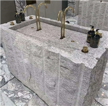 Sunny White Granite Wash Countertop