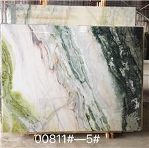 Galaxy Ocean Green Jade Marble Slab,Floor Tiles