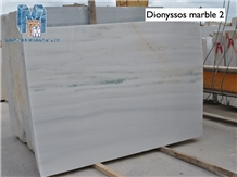 Pentelikon White Greek Marble Polished Slabs Tiles