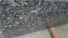 Blue Silver Pearl Granite Slabs