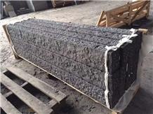China Fuding Black Basalt G684 Split Curbstone
