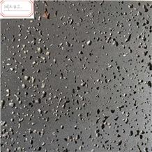 Hainan Black Basalt Honed Tiles & Slabs