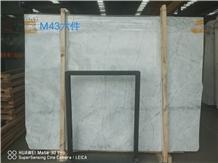 New Carrara White Iran Marble Polished Big Slabs