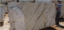 Dolomitic Calacatta Gold Oro Marble Blocks