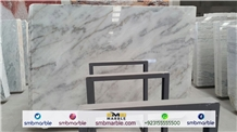 Pakistani Ziarat White Marble Tiles & Slabs